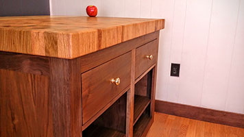 Custom woodworking company