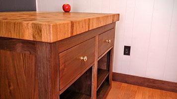 Custom woodworking company